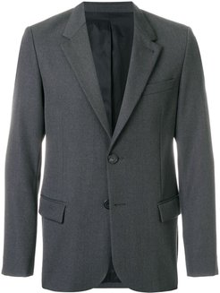 Two Buttons Lined Jacket - Grey