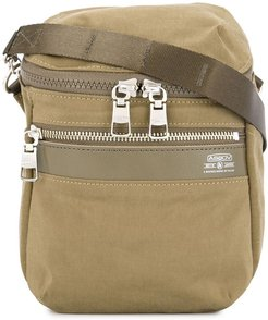 Shrink small messenger bag - Brown