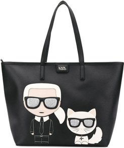 K/Ikonik shopper tote - Black