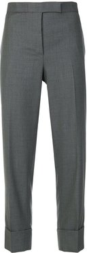 cropped tailored trousers - Grey