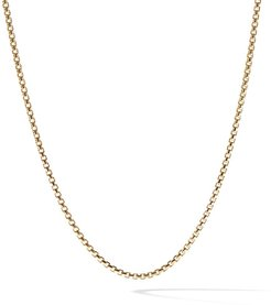 18kt yellow gold Box Chain necklace - 88