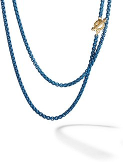 14kt yellow gold and coloured steel DY Bel Aire necklace - L4NVY
