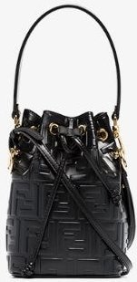 black Mon Tresor mini leather bag