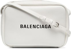 white Everyday small leather camera bag
