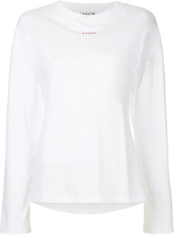 loose T-shirt - White