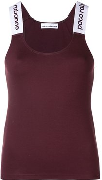 logo strap top - Red