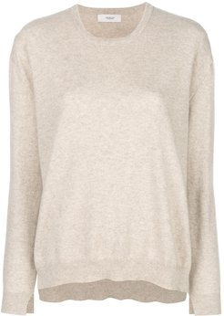 classic long-sleeve sweater - NEUTRALS