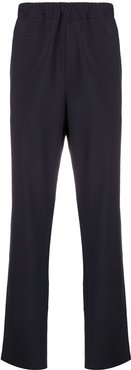 elasticated waist trousers - Blue