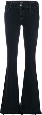 classic flared jeans - Black