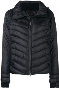 quilted padded jacket - Black