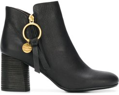 Louise ankle boots - Black