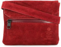 flap shoulder bag - Red