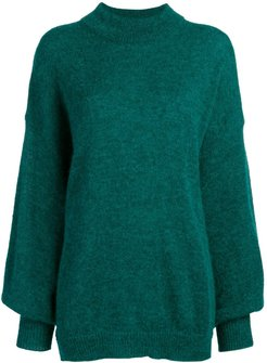 loose fit sweater - Green