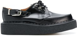 creepers lace-up shoes - Black