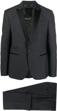 tailored two-piece suit - Grey