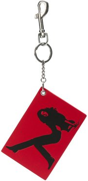 Brooke Shields keychain - Red