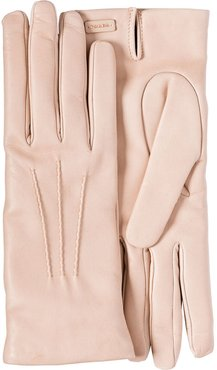 Leather Gloves - PINK