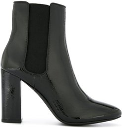 Xio heeled ankle boots - Black