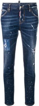 Cool Girl distressed jeans - Blue