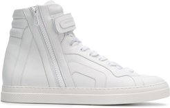 hi-top sneakers - White