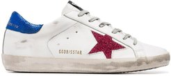 white Superstar leather low-top sneakers