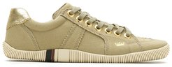 panelled sneakers - Neutrals