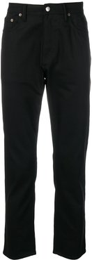 River tapered jeans - Black