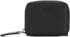zip-around coin purse - Black