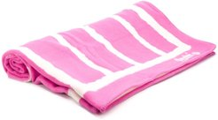 striped towel - PINK