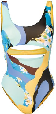 maillot swimsuit - Blue