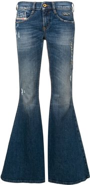 bootcut flared jeans - Blue