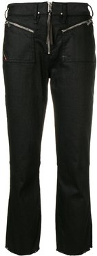 bootcut flared jeans - Black