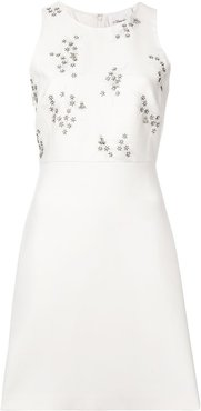 Sleeveless Embellished Dress - NEUTRALS