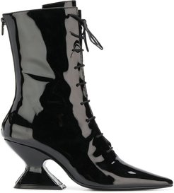 Radio lace up boots - Black