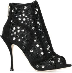 Bette ankle booties - Black