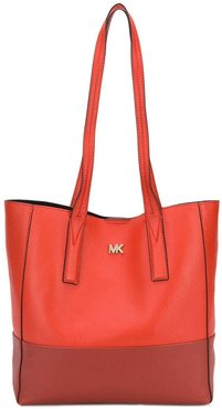 open-top tote - Red