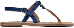 buckled loafers - Blue