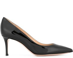 classic pointed pumps - Black