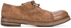 classic lace-up shoes - Brown
