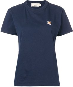 Fox patch T-shirt - Blue