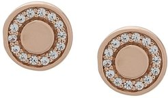 Biography Cosmos studs - GOLD