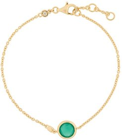 Green Onyx Stilla bracelet - GOLD