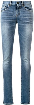 low-rise skinny jeans - Blue
