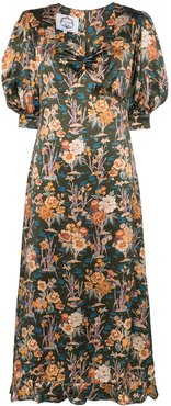 Vanessa floral print maxi dress - MULTICOLOURED