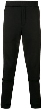 slim-fit track pants - Black