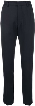 straight fit trousers - Blue