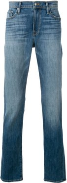 slim fit faded jeans - Blue