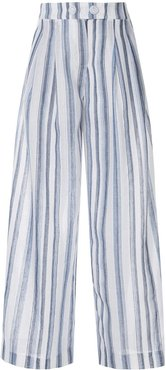 shoreline cropped pants - White