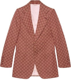 GG canvas jacket - Red