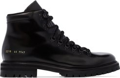 ankle hiking boots - Black
